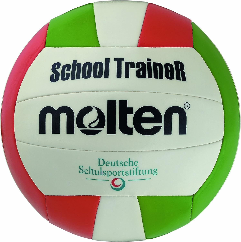MOLTEN V5STC - Pelota para Voleibol Blanco Weiss/Rot/GRÜN Talla:5 ...