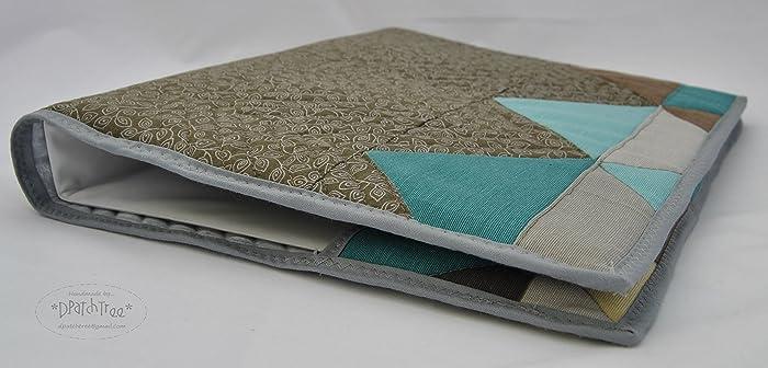 *Funda para archivador de lona y algodón* Hecha a mano. Archivadores de 25cm x 3cm x 33 cm. Archivador de 25cm x 4,5cm x 33cm. Carpetas. Funda de lona.