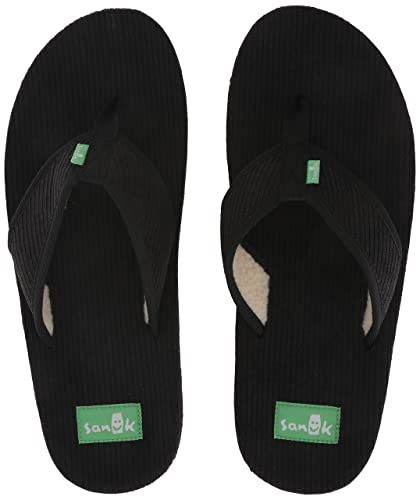 417ec5bf8 Amazon.com  Sanuk Men s Furreal Classic Cord Flip-Flop  Shoes