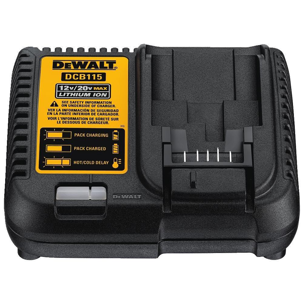 BLACK & DECKER/DEWALT - Lithium-Ion Battery Charger, 20/12-Volt