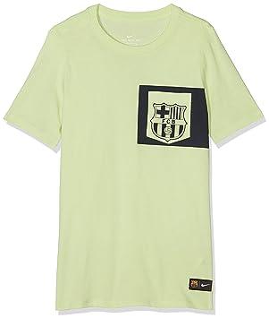 Nike FC Barcelona B Nk tee Crest Camiseta de Manga Corta 7e3661ac4be