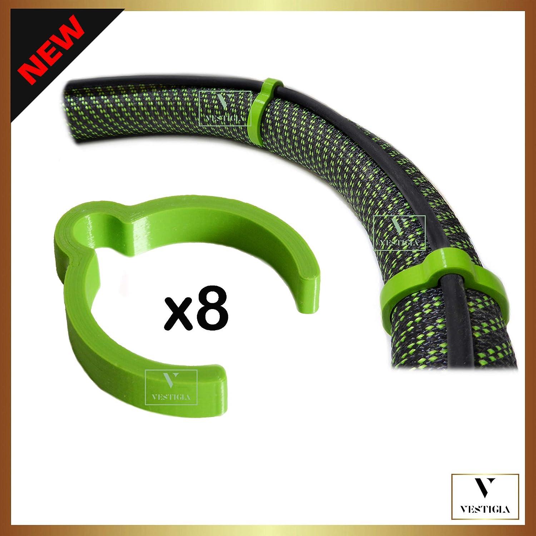 Vestigia® - Festool CT CTL Mini/Midi Makita Bosch - Pinzas Para Manguera Extractora De Polvo D27 D36, Succión Antiestática (D27-33/34mm, Verde): Amazon.es: Bricolaje y herramientas