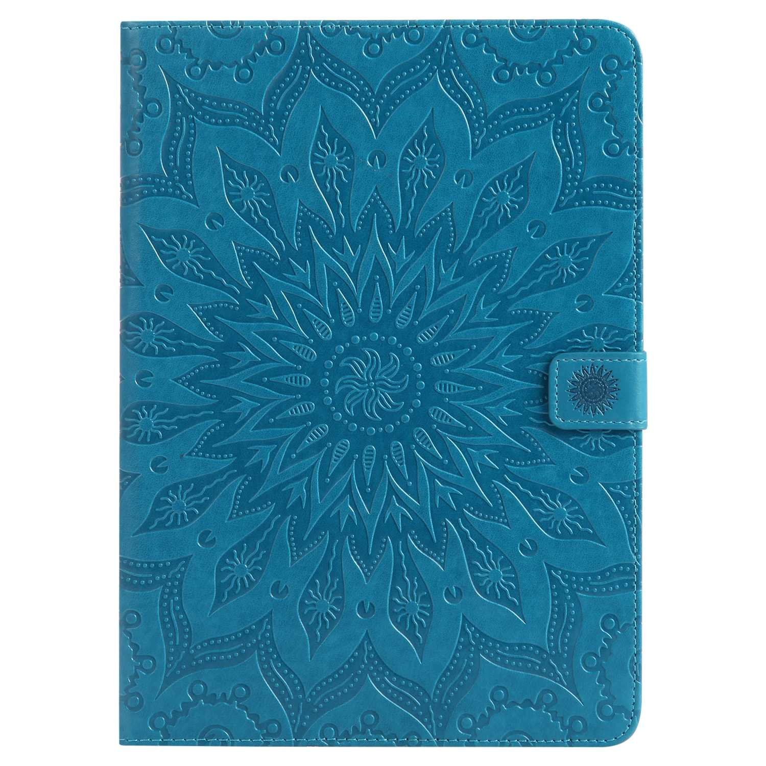 Bear Village iPad Pro 9.7 Inch Case, Anti Scratch Shell with Adjust Stand, Full Body Protective Cover for Apple iPad Pro 9.7 Inch, Blue by Bear Village