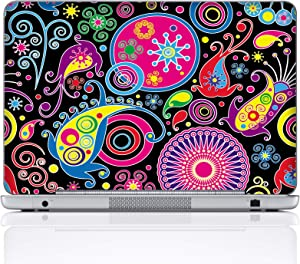 Meffort Inc 15 15.6 Inch Laptop Notebook Skin Sticker Cover Art Decal (Included 2 Wrist pad) - Arts Design