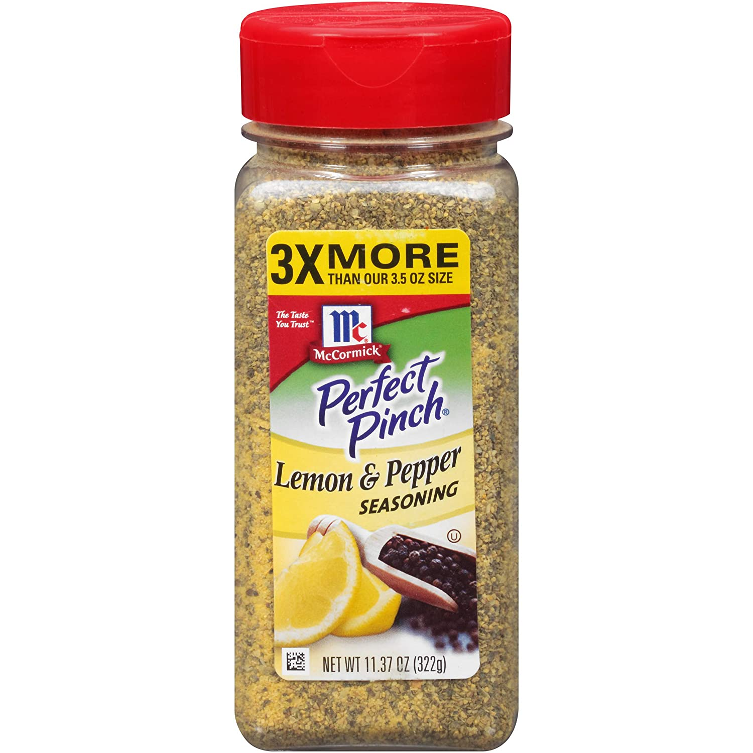 McCormick Perfect Pinch, Lemon & Pepper Seasoning, 11.37 oz