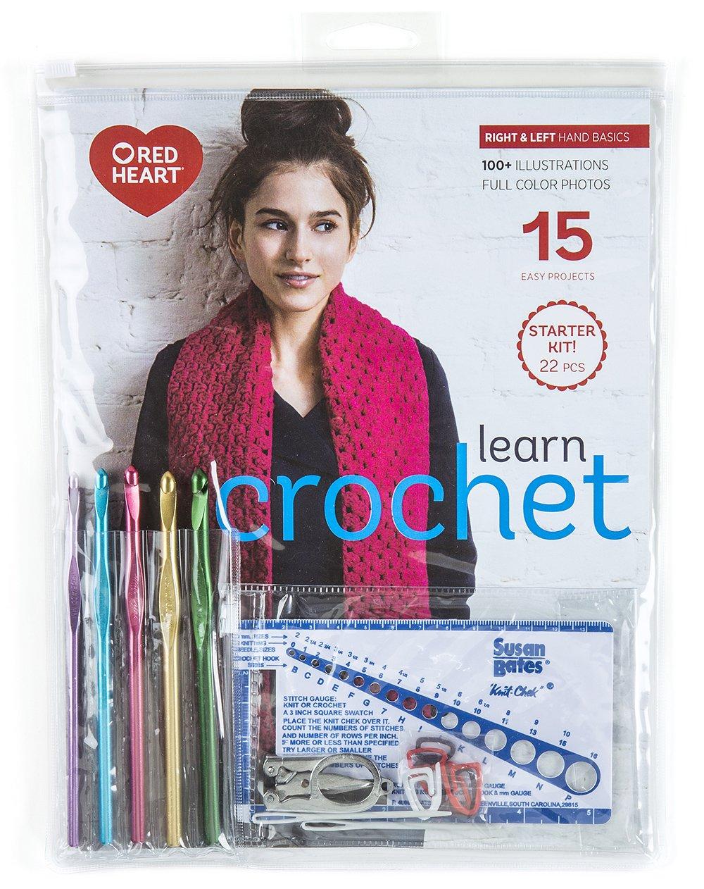 Learning K17370.001 Crochet Teacher Kit Coats & Clark