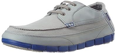 Crocs Stretch Sole Lace Light Grey/Cerulean Blue 14774-0Y7