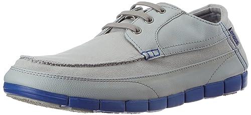 crocs 14774-0Y7 - Mocasines de Lona para Hombre Gris Gris 39/40 EU: Amazon.es: Zapatos y complementos