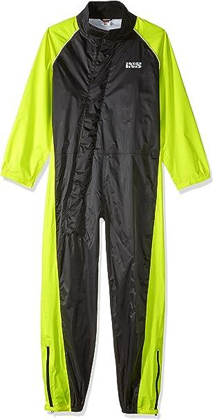 Ixs Unisex Rain Overalls Orca Evo Black Luminous Yellow Rain Overalls Orca Evo Black Luminous Yellow Auto