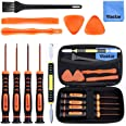 Vastar T6 T8 T10 Xbox One Screwdriver Set, 12 in 1 Xbox Repair Kit for Xbox One Xbox 360 Controller and PS3 PS4 Controller wi