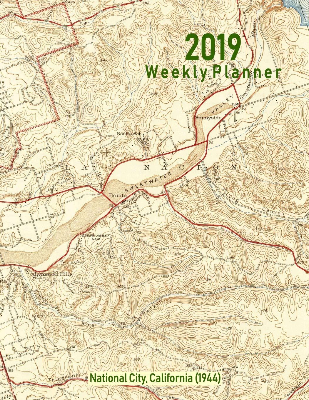 Amazon.com: 2019 Weekly Planner: National City, California (1944 ...