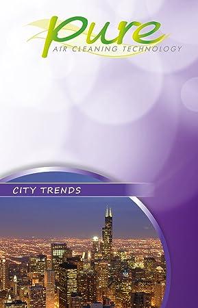 Trisa Electronics City Trends - Accesorio para purificador de aire (Púrpura): Amazon.es: Hogar