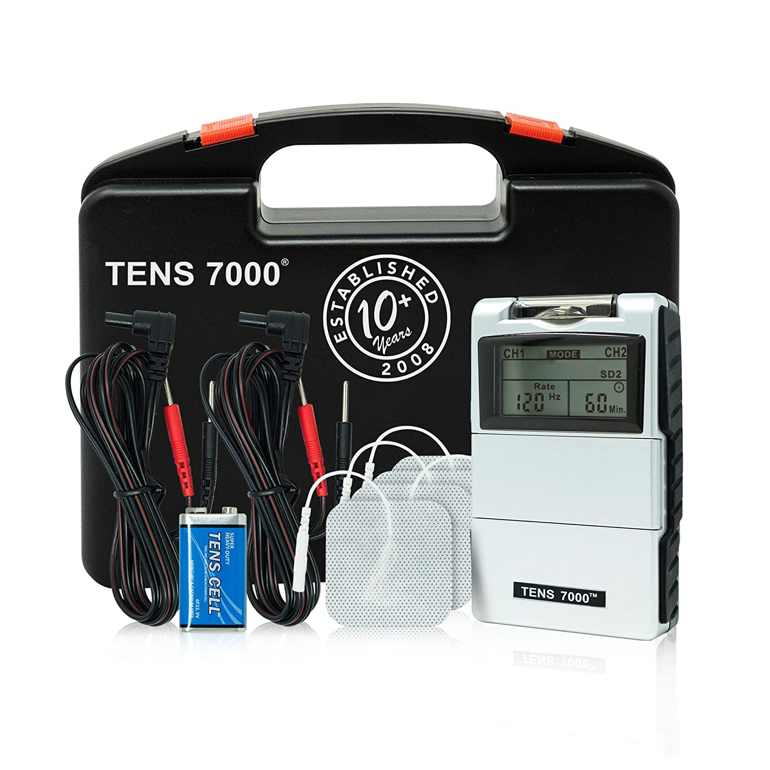 TENS 7000 2nd Edition Digital TENS Unit with Accessories: Industrial & Scientific