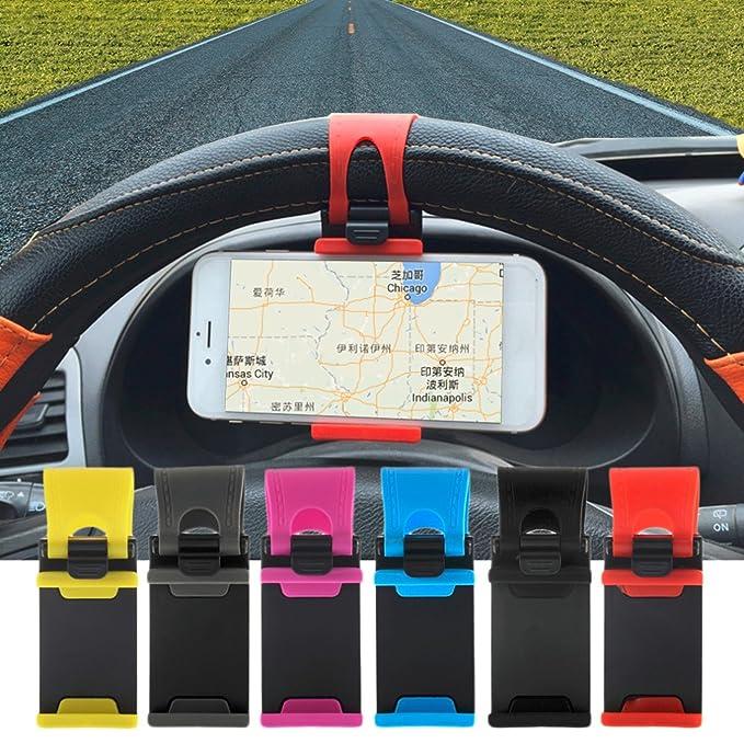 Coche volante soporte de goma banda para iphone para ipod MP4 GPS Teléfono móvil Soportes para
