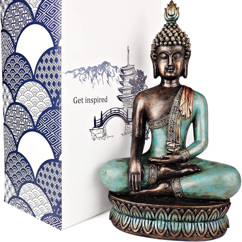"13"" Buddha statue"