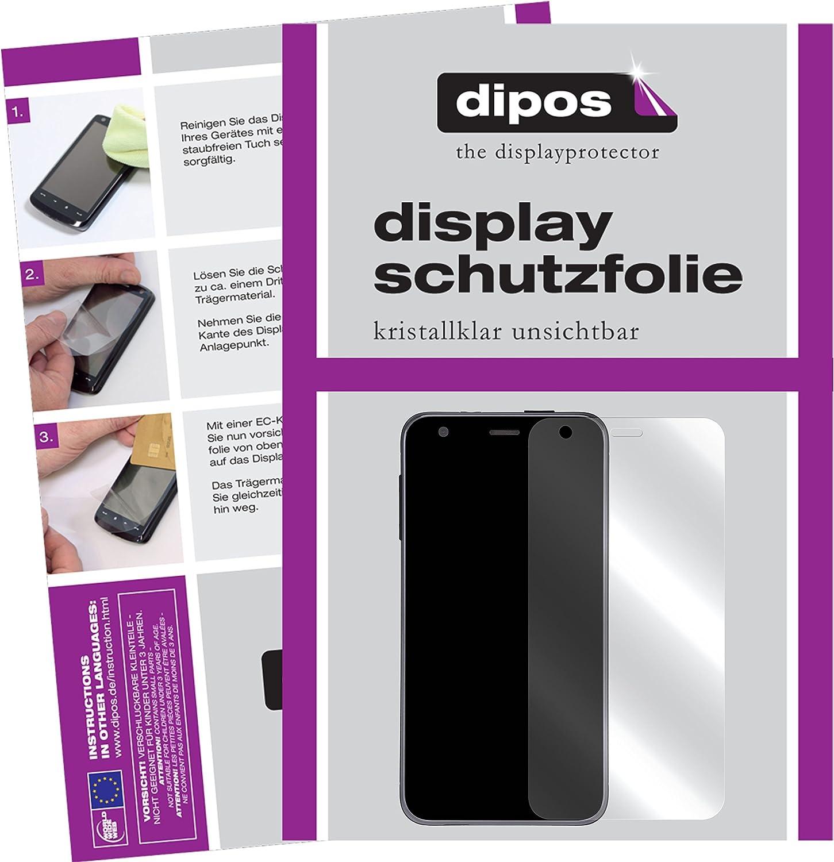 dipos I 2X Schutzfolie klar kompatibel mit Suunto Ambit 3 Peak HR Folie Displayschutzfolie