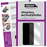 dipos Sony Xperia X Compact Schutzfolie (6 Stück) - kristallklare Premium Folie Crystalclear