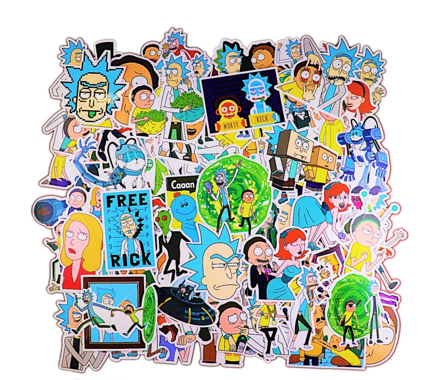 Stickers Calcos 100 un. Surtidos Origen U.S.A. (7N9NSQG5)