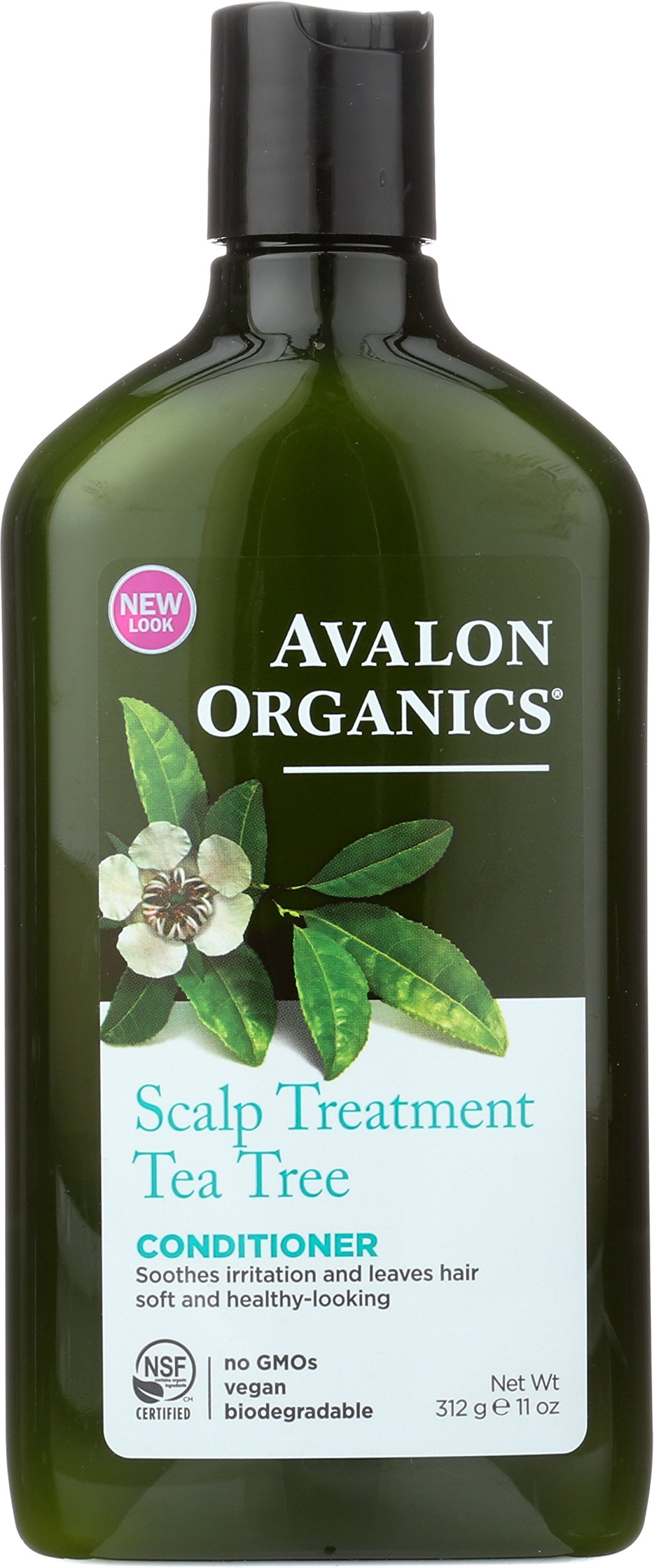 Avalon Organics Scalp Treatment Tea Tree Conditioner, 11 oz