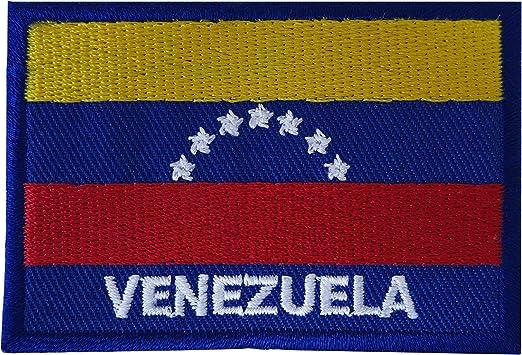 Parche bordado con la bandera de Venezuela para coser en ...