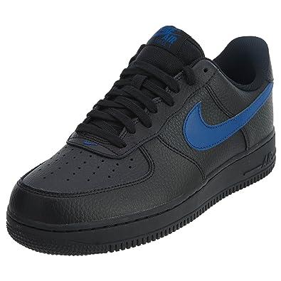 new products 77430 a02a6 ... top quality nike air force 1 07 black gym blue 8 dm b22af ab70c