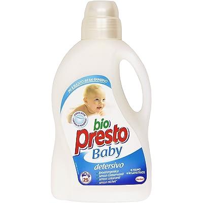 Bio PrestoBaby, Detergente a mano y lavadora1500ml - [Pack de 3]