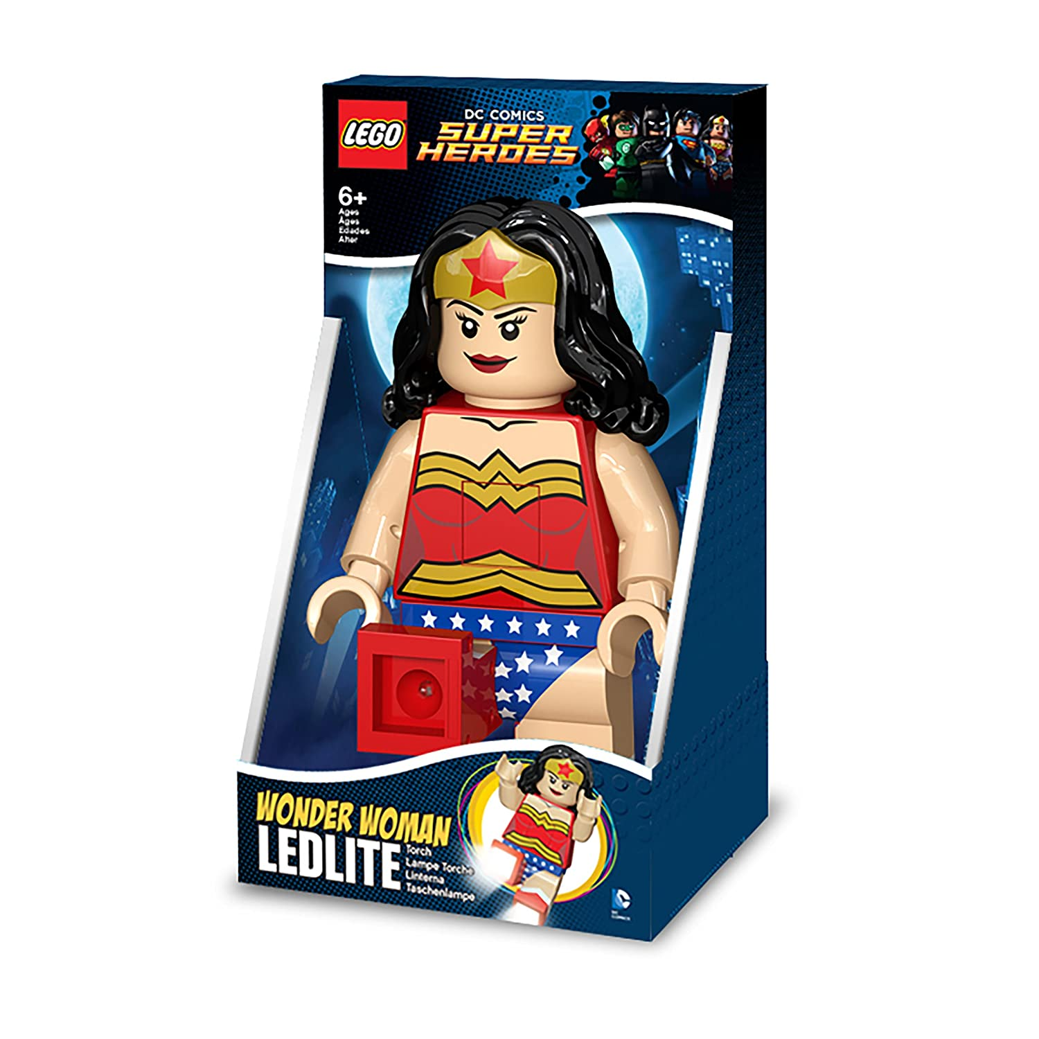 Amazon Com Lego Dc Super Heroes Wonder Woman Led Torch Night