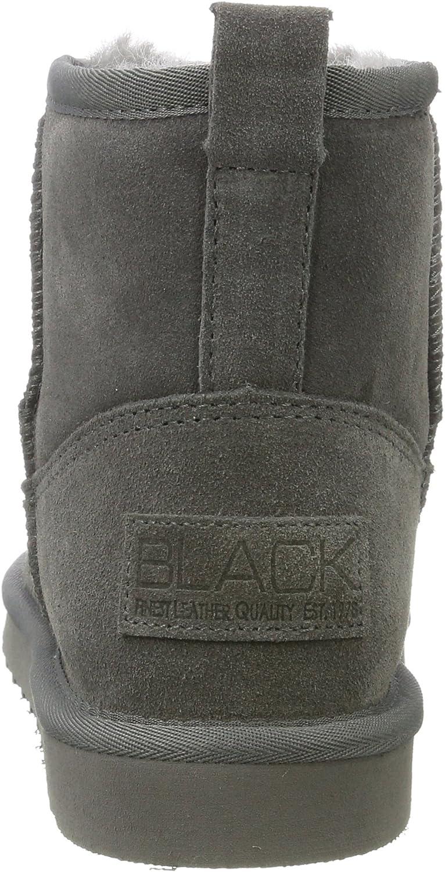 Sauber und klassisch Bulk Designs Ausgezeichnet BLACK Damen 264 532 Schlupfstiefel Grau Dk Grey Lea bbGtg 2i5s1 8OZWI