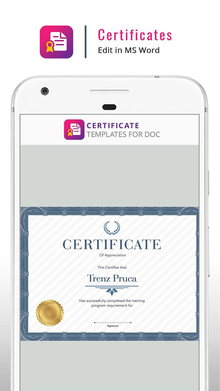 Certificate Maker Templates And Design Ideas