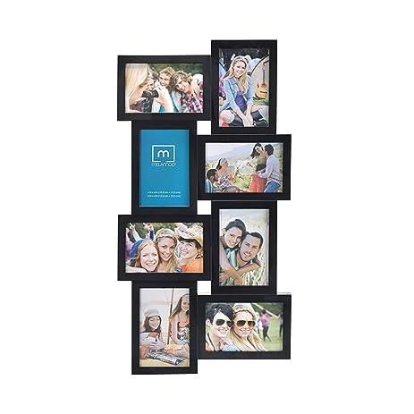 Amazon.com - Melannco 8-Opening Wedge Collage Frame (24-Inch, Black ...