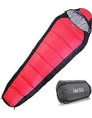 Planet Hiker Saco de Dormir Gran Frío para Senderismo Camping Montaña y Viajes, Relleno 350