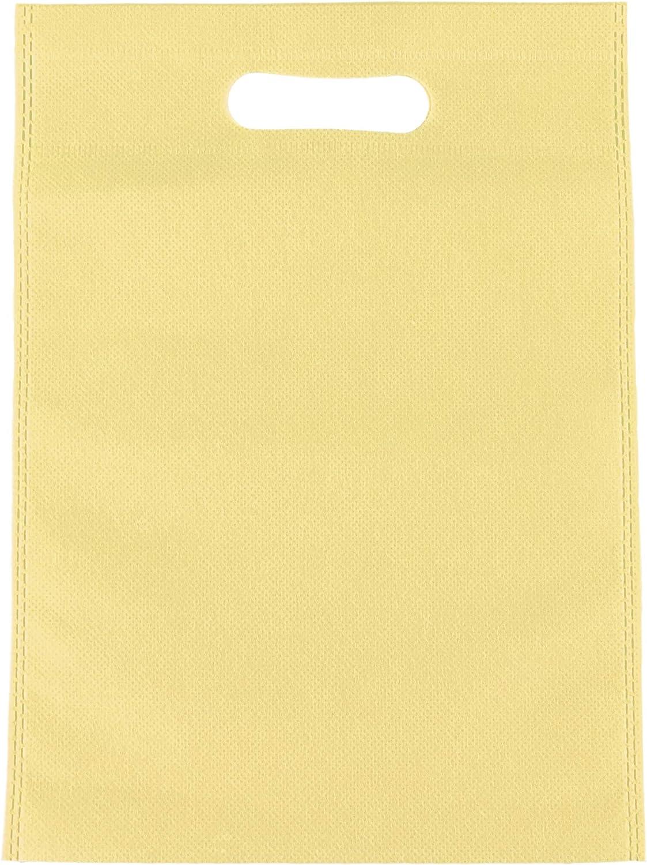 Tela de polipropileno. de tela no tejida 22cm x 30cm respetuosa con el medio ambiente 22 cm x 30/cm crema 200 bolsas de transporte para compra