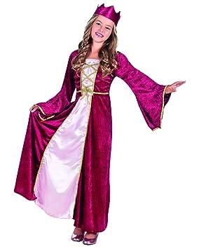 Boland 82143 - Disfraz para niños Renaissance Queen: Amazon.es ...
