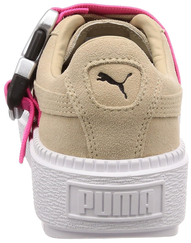 Puma Platform Trace Buckle Buckle Buckle Damen Turnschuhe 2e71b2