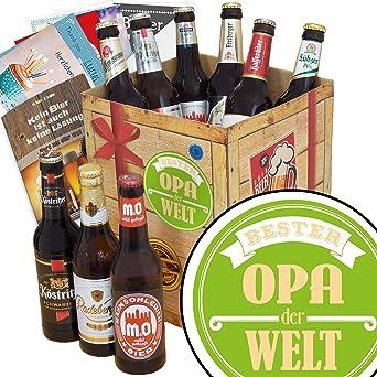 Geburtstag Geschenk Bester Opa Bier Geschenk Box Gratis