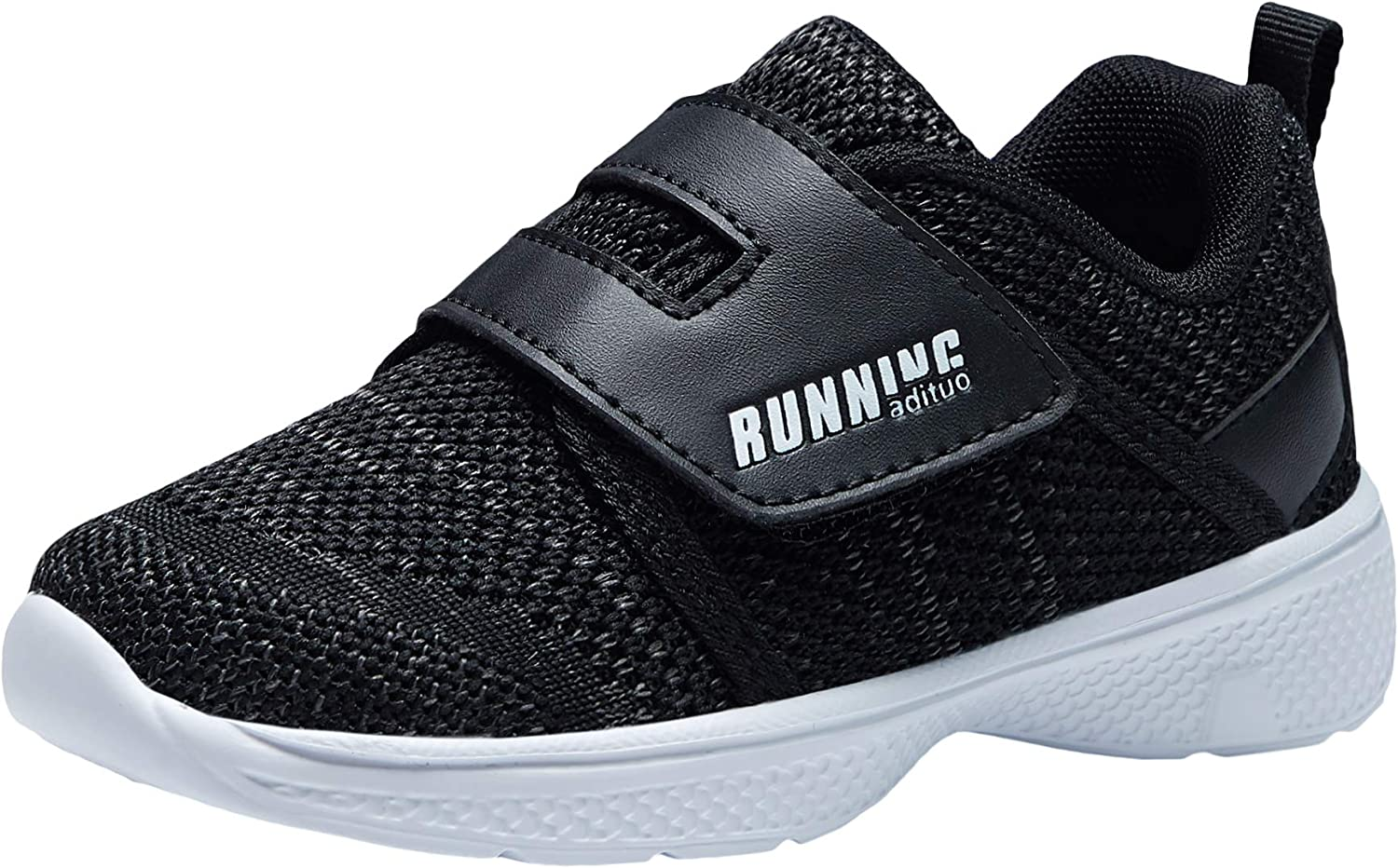 Amazon.com | adituo Toddler/Little Kid Boys Girls Lightweight Breathable  Strap Athletic Sneakers Running Walking Sports Shoes | Sneakers