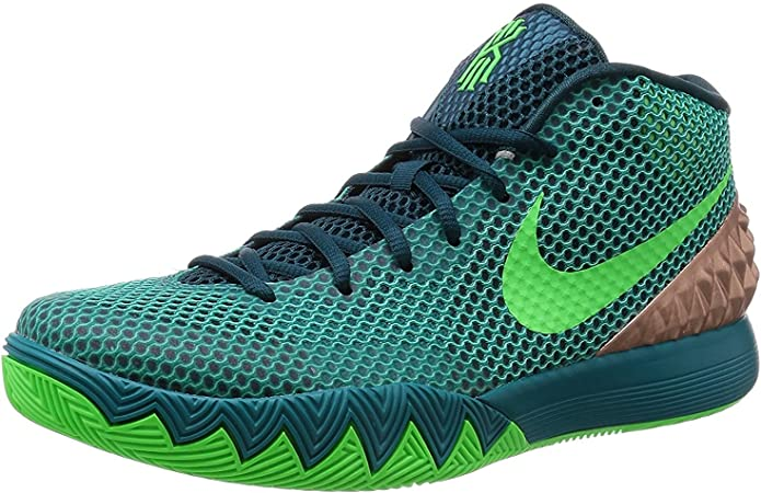 Nike Kyrie 1 Youth White//Black//Voltage//Silver Athletic Sneakers
