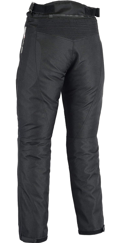 thermique//imperm/éable Noir Pantalon moto Jazz Taille Fabricant 10 femme Taille FR S renforts CE