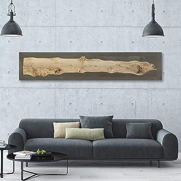 Atemberaubendes Design Wandbild Aus Beton Holz