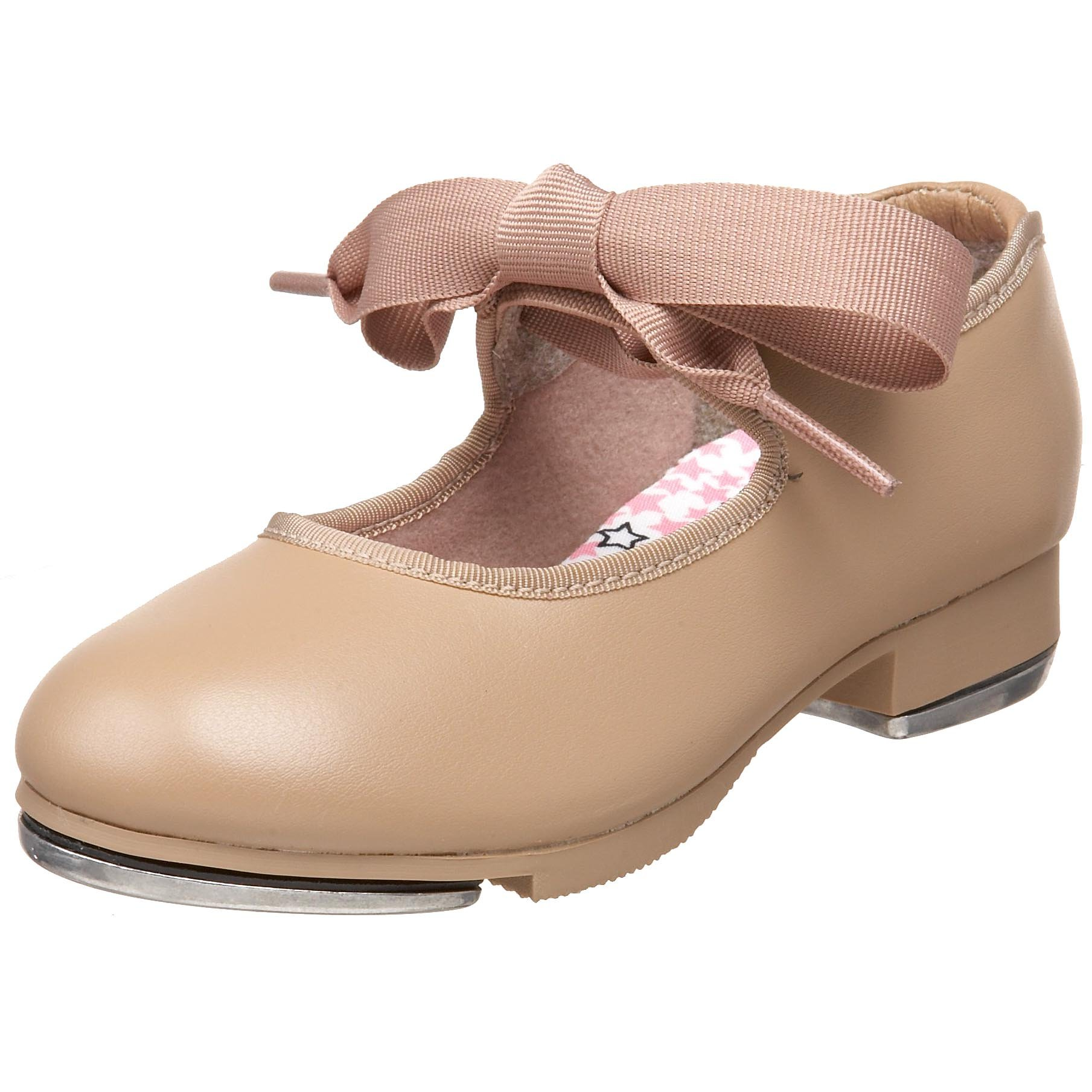 Capezio Jr.Tyette N625C Tap Shoe (Toddler/Little Kid),Caramel,7 M US Toddler