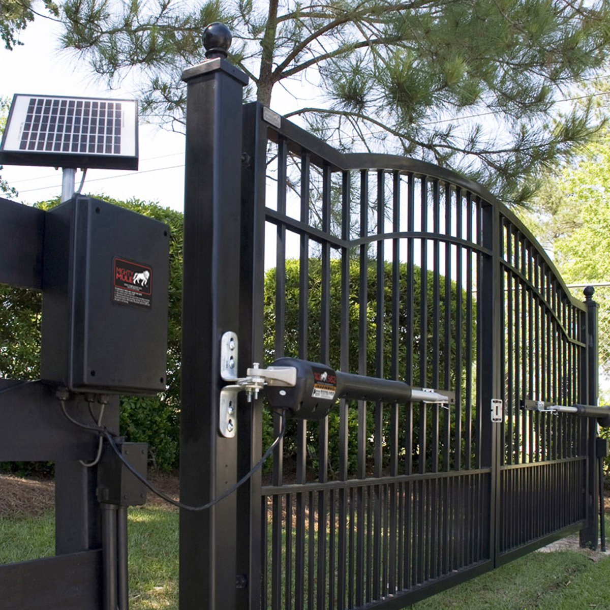 Mighty Mule MM562 Automatic Gate Opener for Heavy Duty Dual Swing Gates for 18' Long or 850 lb by Mighty Mule (Image #5)