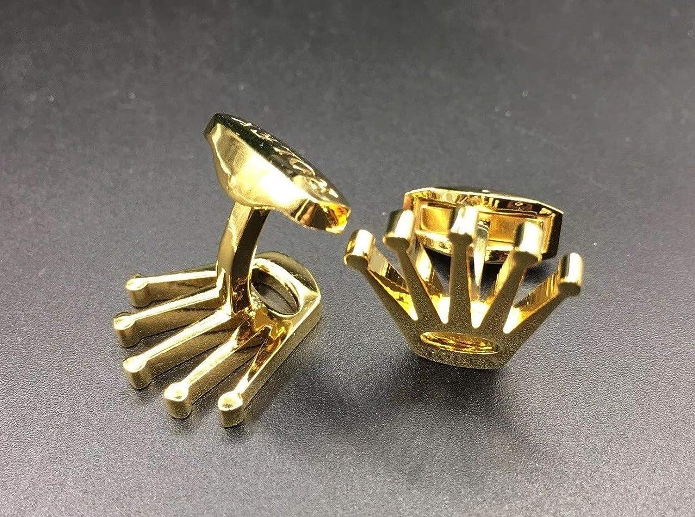 Amazon.com: ZIVOM – Gemelos de latón dorado de 18 quilates ...