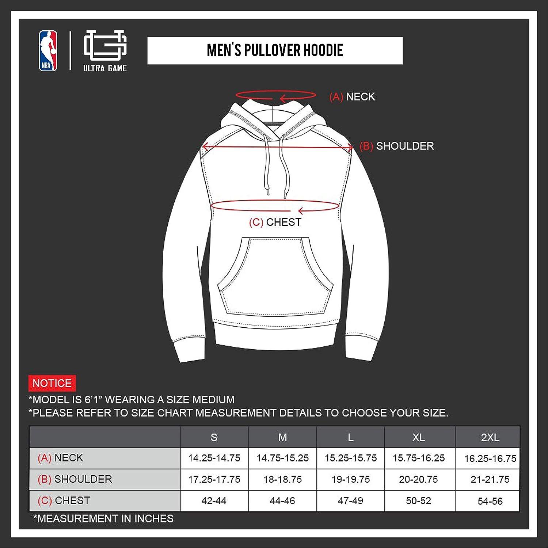 NBA Atlanta Hawks Ultra Game Mens MIDTOWN HOODIE Team Color Medium