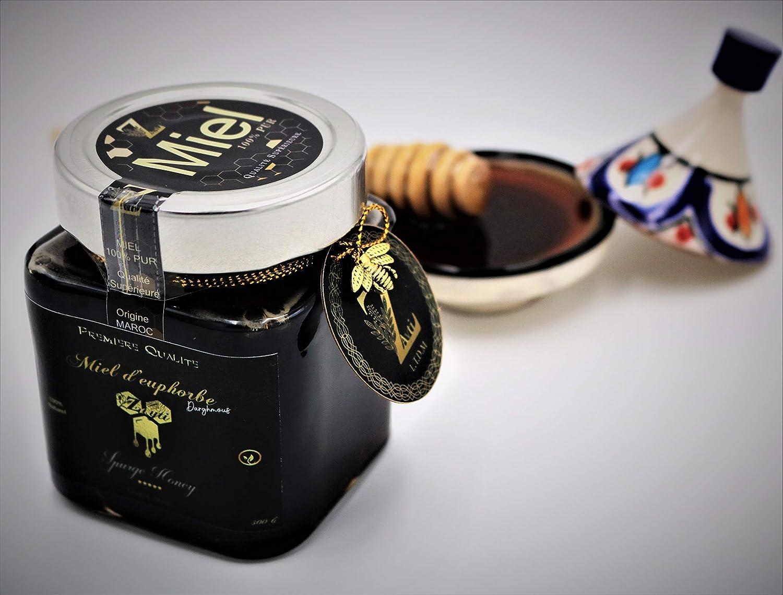 Miel dEuphorbe (Daghmous) de Marruecos), 100% puro y natural.