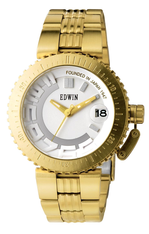 Unisex Edelstahl Quarz Uhr Mit Edwin Analog E1006 04Amazon Armband rCxoedB