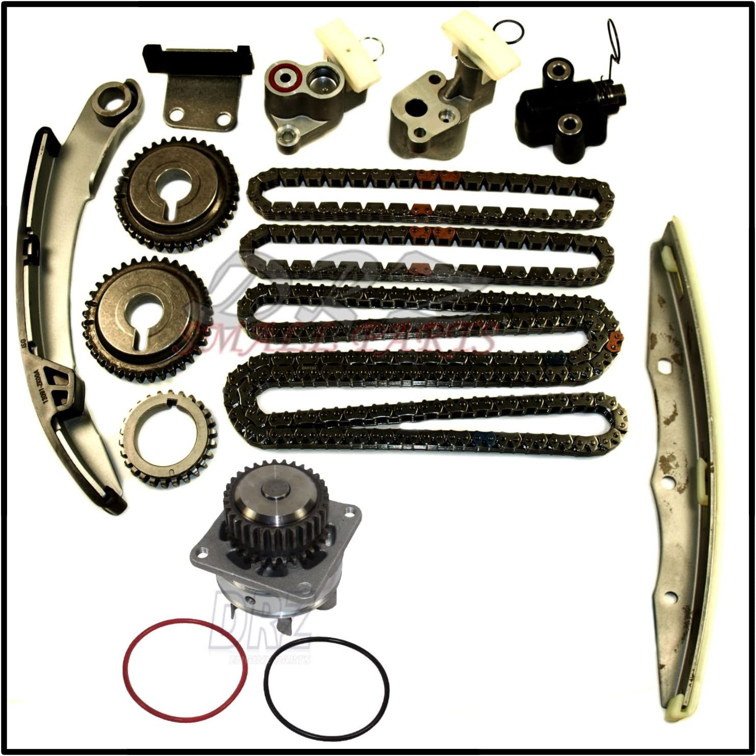 AUTOMUTO Engine Timing Chain Kit Water Pump Head Gasket Set for ...