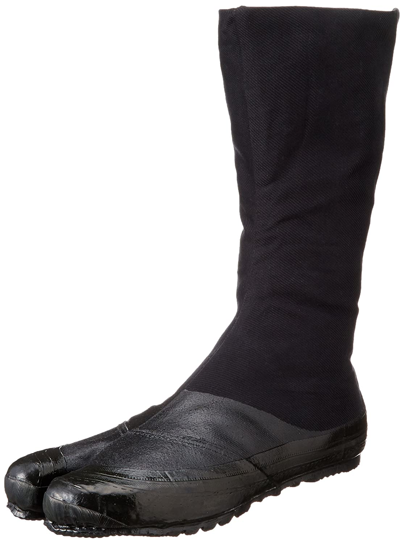Zapatos Ninja Jikatabi con Suelas de Goma Negro (Jitsuyou) 12 Clips - Directo de Japon (Marugo) Samurai market