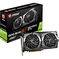 MSI Gaming GeForce GTX 1650 128-Bit HDMI/DP 4GB GDRR5 HDCP Support DirectX 12 Dual Fan VR Ready OC Graphics Card (GTX 1650 Gaming X 4G)