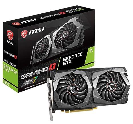 MSI Nvidia GeForce GTX 1650 Gaming X 4G - Tarjeta gráfica (4 ...