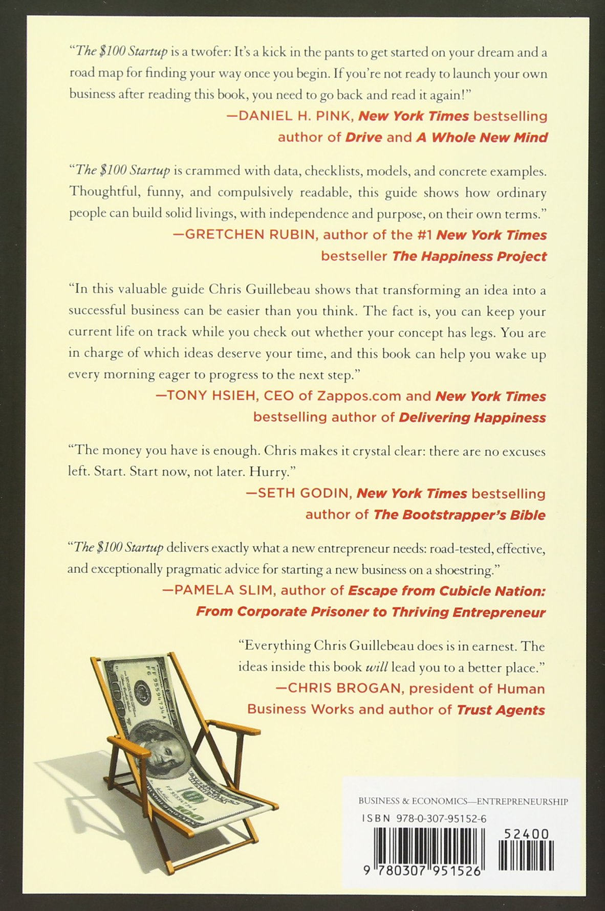 The $100 Startup: Reinvent The Way You Make A Living, Do What You Love, And  Create A New Future: Chris Guillebeau: 8601400553046: Amazon.com: Books